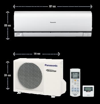 Инверторная сплит-система PANASONIC Deluxe CS/CU-E7NKD